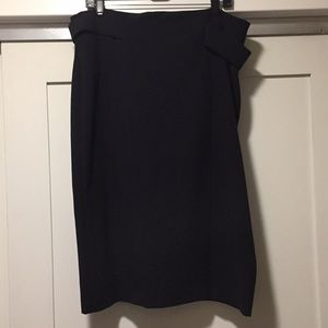 Eva Mendes Black Pencil Skirt
